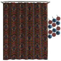 Marvel® Black Panther Tribal Shower Curtain