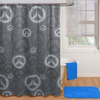 Star Wars™ Blizzard Overwatch Heroes Shower Curtain and Hooks Set