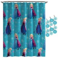 Disney® Frozen Swirl Shower Curtain