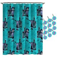 Disney® Junior Vamperina Shower Curtain and Hooks Set