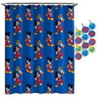 Disney® Mickey Mouse Road Race Shower Curtain