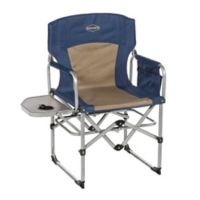 Kamp-Rite® Compact Director's Chair in Blue/Tan