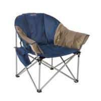 Kamp-Rite® Kozy Klub Chair in Blue/Tan