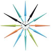 Infinity Instruments Celeste 24.5-Inch Multicolor Wall Clock