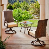 Royal Garden Valley 3-Piece Bistro Set in Tan