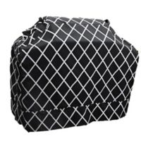 Great Bay Home Premium Waterproof BBQ Gas Grill Cover in Black/White