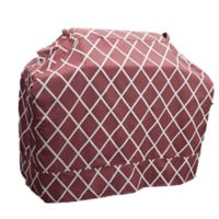 Great Bay Home Premium Waterproof BBQ Gas Grill Cover in Red/White