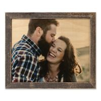 Designs Direct 14-Inch x 11-Inch Framed Wood Print with 1-Inch Frame