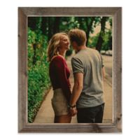 Designs Direct 16-Inch x 20-Inch Framed Wood Print with 2-Inch Frame