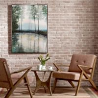 Morning Trees Framed Wall Art