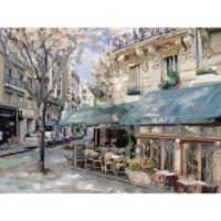 Art Bistro De Paris I 30-Inch x 40-Inch Wrapped Canvas Wall Art