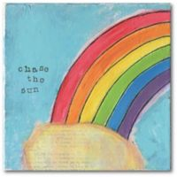 Courtside Market™ Chase The Sun 16-Inch x 1.5-Inch Framed Wrapped Canvas