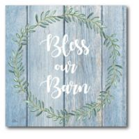 Courtside Market™ Bless Our Barn 16-Inch x 1.5-Inch Framed Wrapped Canvas