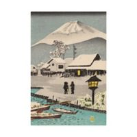 Trademark Fine Art Iconic Japan XI 12-Inch x 19-Inch Canvas Wall Art
