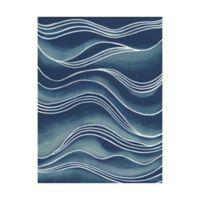 Trademark Fine Art Wind & Waves I 35-Inch x 47-Inch Canvas Wall Art