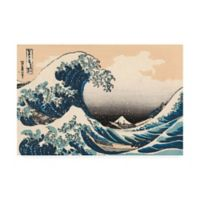 Trademark Fine Art Iconic Japan V 30-Inch x 47-Inch Canvas Wall Art