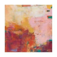 Trademark Fine Art Apricity V 14-Inch Square Canvas Wall Art