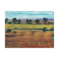 Trademark Fine Art Planting Time I 14-Inch x 19-Inch Landscape Wrapped Canvas Wall Art