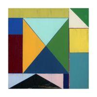 Trademark Fine Art Junction I 14-Inch Square Canvas Wall Art