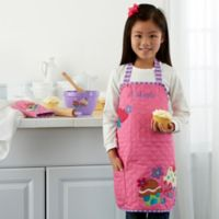 Cupcake Embroidered Kid's Apron by Stephen Joseph
