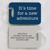 Expressions Personalized Luggage Tag 2-Piece Set