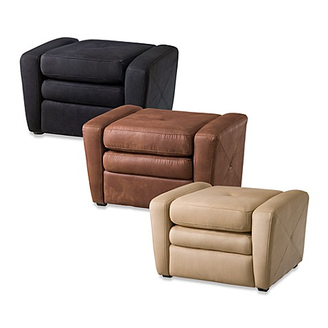 Home Styles Microfiber Gaming Chair & Ottoman - Bed Bath & Beyond - Ottoman  Gaming Chair - Gaming Chair Ottoman SB Creative Design