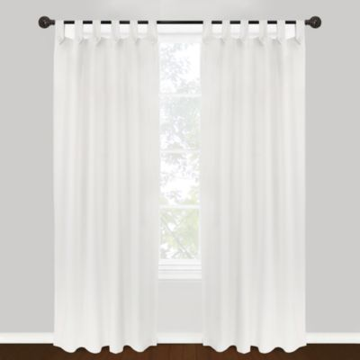 Park B Smith Vintage House Brighton Tab Top 84 Inch Window Curtain Panel In