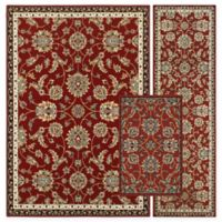 Alexandria Zeigler 3-Piece Woven Rug Set in Red