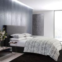 Vera Wang™ Shibori Grid King Comforter Set in Blue