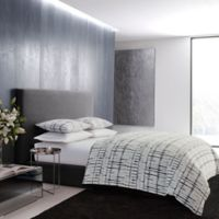 Vera Wang™ Shibori Grid Duvet Cover Set