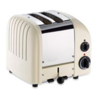Dualit® 2-Slice NewGen Classic Toaster in White
