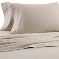 Dormisette Cotton Linen King Pillowcases In Natural Set Of 2