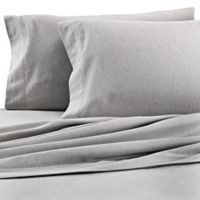 Dormisette Cotton Linen Queen Sheet Set in Grey