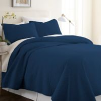 Home Collection Herring Twin/Twin XL Quilt Set in Navy
