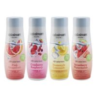 sodastream® 4-Piece Sparkling Drink Mix Variety Set