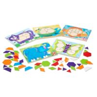 Melissa & Doug® Animal Pattern Blocks Puzzles