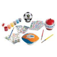 Melissa & Doug® Decorate Your Own Sports Set
