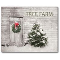Courtside Market™ Tree Farm 16-Inch x 1.5-Inch Framed Wrapped Canvas
