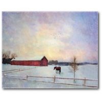 Courtside Market™ Winter Graze 16-Inch x 1.5-Inch Framed Wrapped Canvas