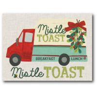 Courtside Market™ Mistle Toast 16-Inch x 1.5-Inch Framed Wrapped Canvas