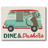 Courtside Market™ Dine & Dashers 16-Inch x 1.5-Inch Framed Wrapped Canvas