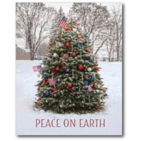 Courtside Market™ Peace On Earth 16-Inch x 1.5-Inch Framed Wrapped Canvas