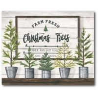 Courtside Market™ Christmas Tree 16-Inch x 1.5-Inch Framed Wrapped Canvas