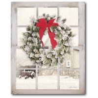 Courtside Market™ Winter Window 16-Inch x 1.5-Inch Framed Wrapped Canvas