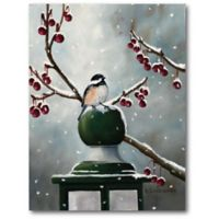 Courtside Market™ Winter Bird 16-Inch x 1.5-Inch Framed Wrapped Canvas