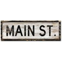 Courtside Market™ Main Street 12-Inch x 1.5-Inch Framed Wrapped Canvas