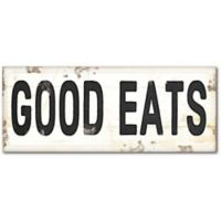 Courtside Market™ Good Eats Sign 12-Inch x 1.5-Inch Framed Wrapped Canvas