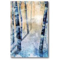 Courtside Market™ Winter Trees 12-Inch x 1.5-Inch Framed Wrapped Canvas