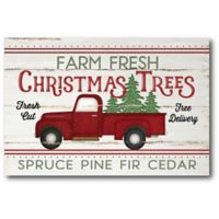 Courtside Market™ Vintage Truck Farm Fresh 12-Inch x 1.5-Inch Framed Wrapped Canvas
