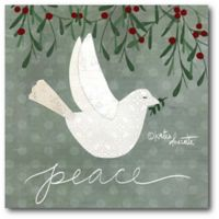 Courtside Market™ Peace 16-Inch x 1.5-Inch Framed Wrapped Canvas